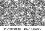 silver glitter texture. silver... | Shutterstock . vector #1014436090