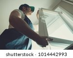 professional handyman... | Shutterstock . vector #1014442993