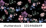 seamless floral pattern in... | Shutterstock .eps vector #1014468649