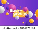 vector background with bright... | Shutterstock .eps vector #1014471193