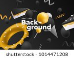 vector background with bright... | Shutterstock .eps vector #1014471208