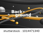 vector background with bright... | Shutterstock .eps vector #1014471340