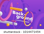 vector background with bright... | Shutterstock .eps vector #1014471454