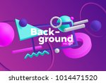 vector background with bright... | Shutterstock .eps vector #1014471520