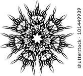 tattoo  design circular | Shutterstock . vector #101449939