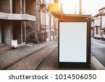 close up view of empty white... | Shutterstock . vector #1014506050