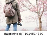 asian tourist shooting picture... | Shutterstock . vector #1014514960