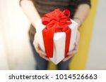 giving the gift for several... | Shutterstock . vector #1014526663