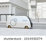 Side View Of Self Driving...