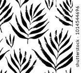 tropical leaves  jungle pattern....   Shutterstock .eps vector #1014544696