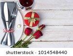 Romantic Table For Valentine\'s...