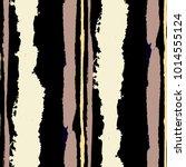 seamless grunge stripes.... | Shutterstock .eps vector #1014555124