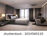 3d rendering modern luxury... | Shutterstock . vector #1014560110