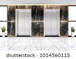 3d rendering modern steel... | Shutterstock . vector #1014560113