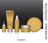 packaging cosmetic beauty... | Shutterstock .eps vector #1014562528