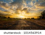 sunrise with cloud sky... | Shutterstock . vector #1014563914