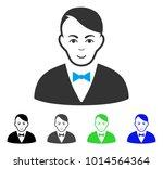 happiness dealer vector icon.... | Shutterstock .eps vector #1014564364