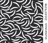 abstract monochrome fashion... | Shutterstock .eps vector #1014579298