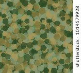 seamless camouflage made of...   Shutterstock .eps vector #1014579928