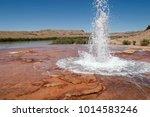 crystal geyser on utah's green...   Shutterstock . vector #1014583246