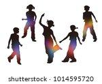 dance  tap  illustration | Shutterstock . vector #1014595720