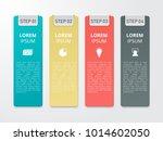infographics template for... | Shutterstock .eps vector #1014602050
