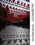 Red Chinese Lanterns Hanging...