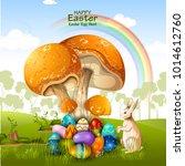 easy to edit vector... | Shutterstock .eps vector #1014612760