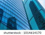 close up of modern office... | Shutterstock . vector #1014614170