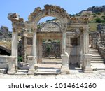 Turkey. Ephesus. The Temple Of...