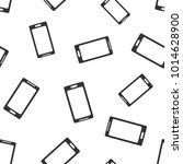 smartphone seamless pattern...