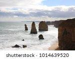 twelve apostles along great... | Shutterstock . vector #1014639520
