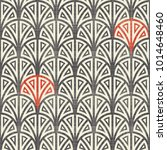 seamless geometric pattern in... | Shutterstock .eps vector #1014648460