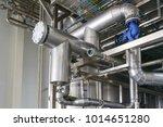 industrial zone  steel... | Shutterstock . vector #1014651280