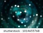 bokeh light blue abstract... | Shutterstock . vector #1014655768