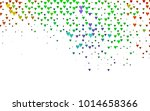 light multicolor  rainbow... | Shutterstock .eps vector #1014658366