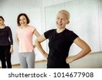 good mood of women who are... | Shutterstock . vector #1014677908