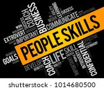 people skills word cloud... | Shutterstock .eps vector #1014680500