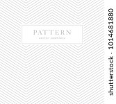 simple chevron seamless pattern.... | Shutterstock .eps vector #1014681880