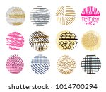 big set of vector handdrawn ...   Shutterstock .eps vector #1014700294