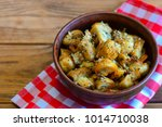 quick fried mushrooms. savory... | Shutterstock . vector #1014710038