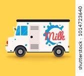 dairy milk delivery service....   Shutterstock .eps vector #1014723640