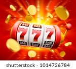 big win slots 777 banner casino.... | Shutterstock .eps vector #1014726784