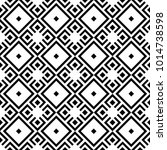 seamless black and white... | Shutterstock .eps vector #1014738598