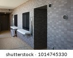 apartment with alcove entrance | Shutterstock . vector #1014745330