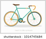 bicycle vector illustration | Shutterstock .eps vector #1014745684