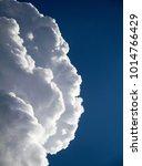 big cloud in the blue sky   Shutterstock . vector #1014766429