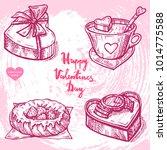 vector hand drawn illustration... | Shutterstock .eps vector #1014775588