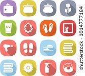 flat vector icon set   wallet... | Shutterstock .eps vector #1014777184