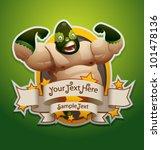 vector mexican wrestler banner 1   Shutterstock .eps vector #101478136